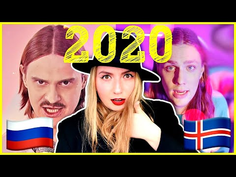 Russia VS Iceland Eurovision 2020 Reaction. THE WINNER IS ...