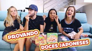 PROVANDO COISAS DO JAPÃO (ft. Gabi Lopes)