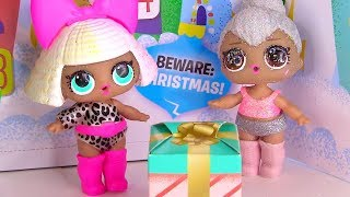 Солодкі Сюрпризи на Новий Рік від Ляльки Лол - Мультик з Іграшками! Частина 1 Lol Surprise Dolls