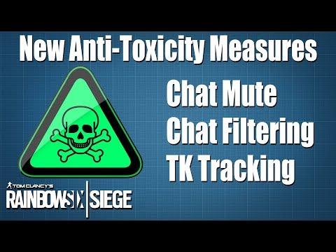 New Anti-Toxicity Roadmap - Rainbow Six Siege