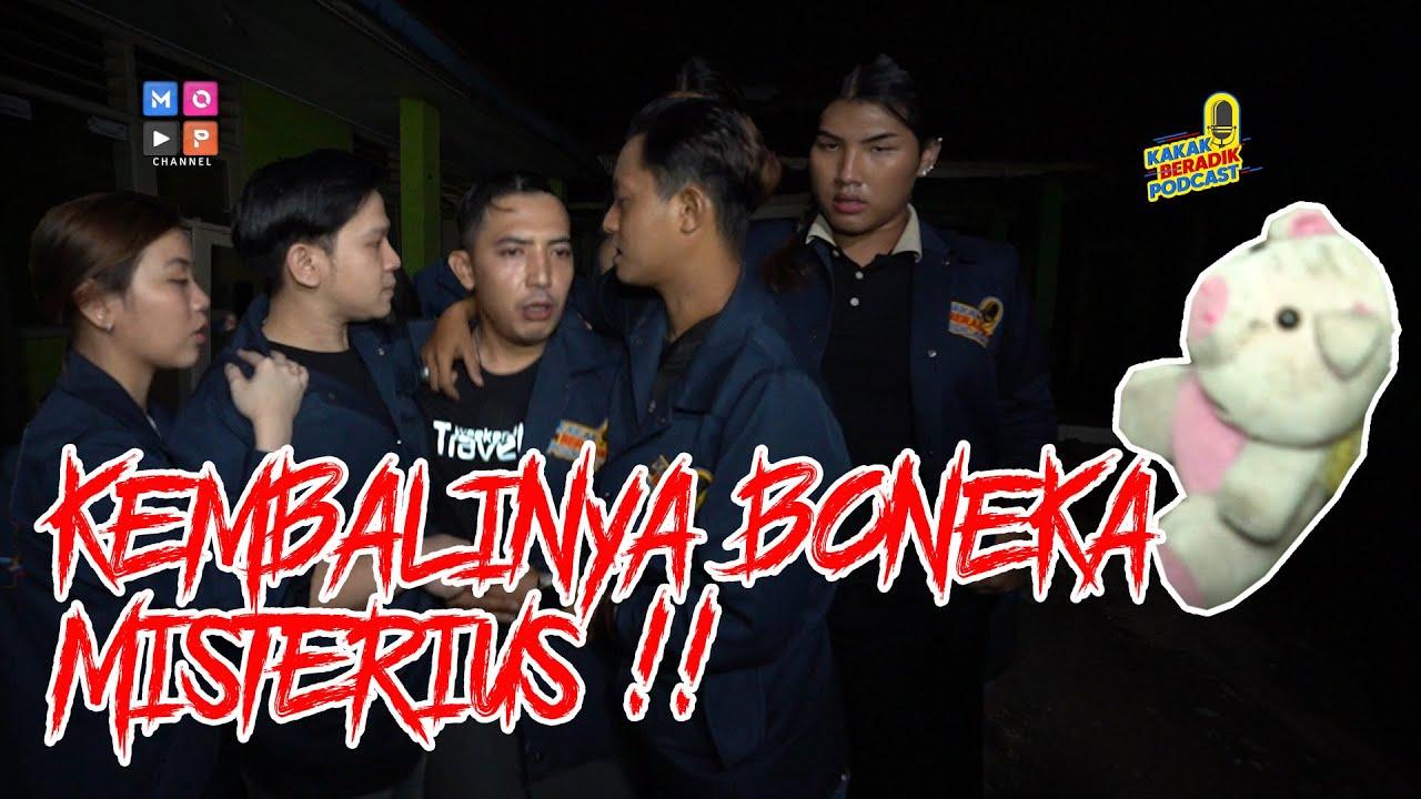 KAKAK BERADIK PODCAST - (PART 3) KEMBALINYA BONEKA MISTERIUS DI DEKAT KURSI RODA ANGKER!!