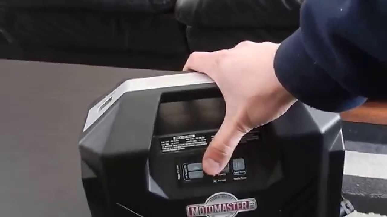 motomaster inflator dual power 12v 120v