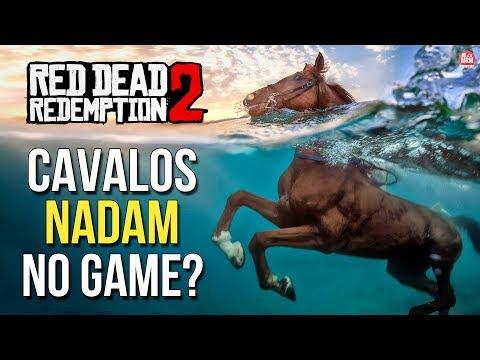 RED DEAD REDEMPTION 2 - CAVALOS VÃO NADAR, ESTAÇÕES DO ANO, BARCOS GRANDES e MAIS (SEM SPOILERS)