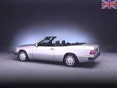 Mercedes 300ce W124 Cabriolet Engineering Overview 1992