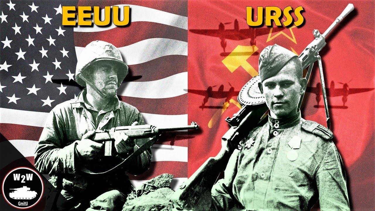 Estados Unidos VS Unión Soviética 1945 - Choque de Titanes