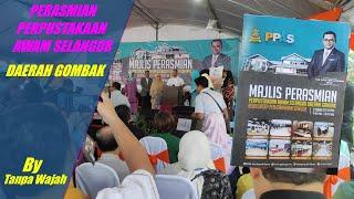 Apa Yang Ada Di Perbadanan Perpustakaan Awam Selangor Daerah Gombak Yang Baru Di Jenama Semula?