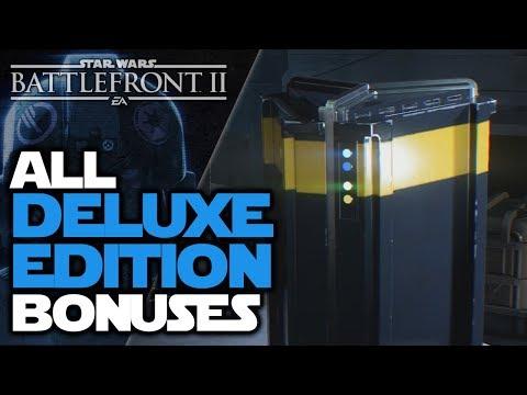 All BONUSES of Star Wars Battlefront II Elite Trooper Deluxe Edition