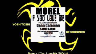 Morel - If You Love Me (Morel Pink Noise Extended Mix) [YR114.2]
