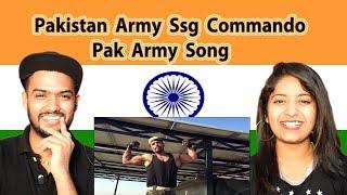 Indian Reaction on Pakistan Army Song | Hum Desh Sipahi Hai | Pak Army Ssg Commando | Swaggy d