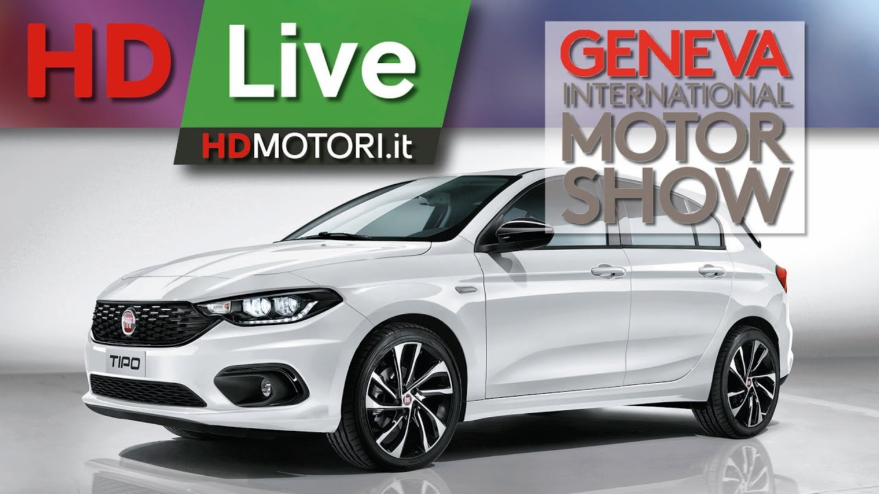 fiat tipo s design e 500x s design live da ginevra 2017 youtube. Black Bedroom Furniture Sets. Home Design Ideas
