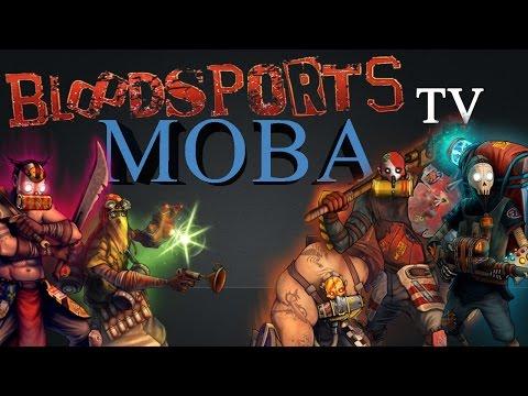 видео: bloodsports.tv - Обзор спортивной moba игры