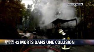 """Puisseguin: un témoin décrit l'""""épaisse, très intense colonne de fumée noire"""""""