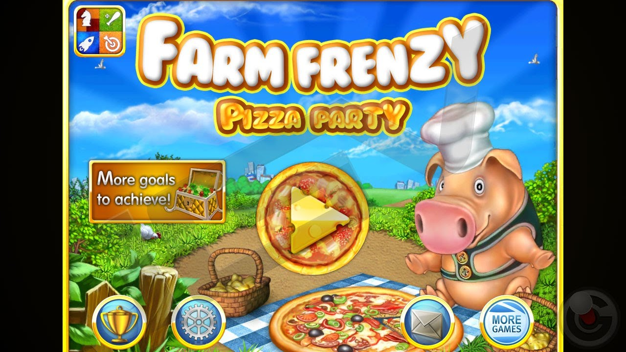 Farm Frenzy 2 Pizza Party - iPhone Gameplay Video