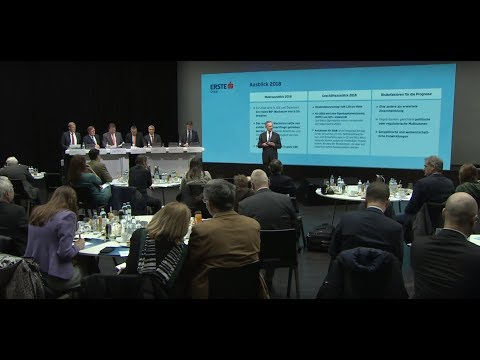 Erste Group year-end 2017 results - webcast of press conference #ErsteYE17