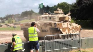 Tankfest 2014 Khalid Tank Display