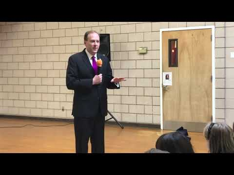 Candidate Lee Zeldin Visits The Laurel Hill School