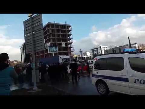 İzmirde Patlama Ilk Görüntüler Amatör Kameradan