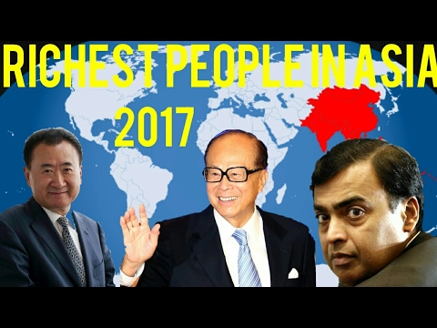Top 10 Richest People in Asia – 2017