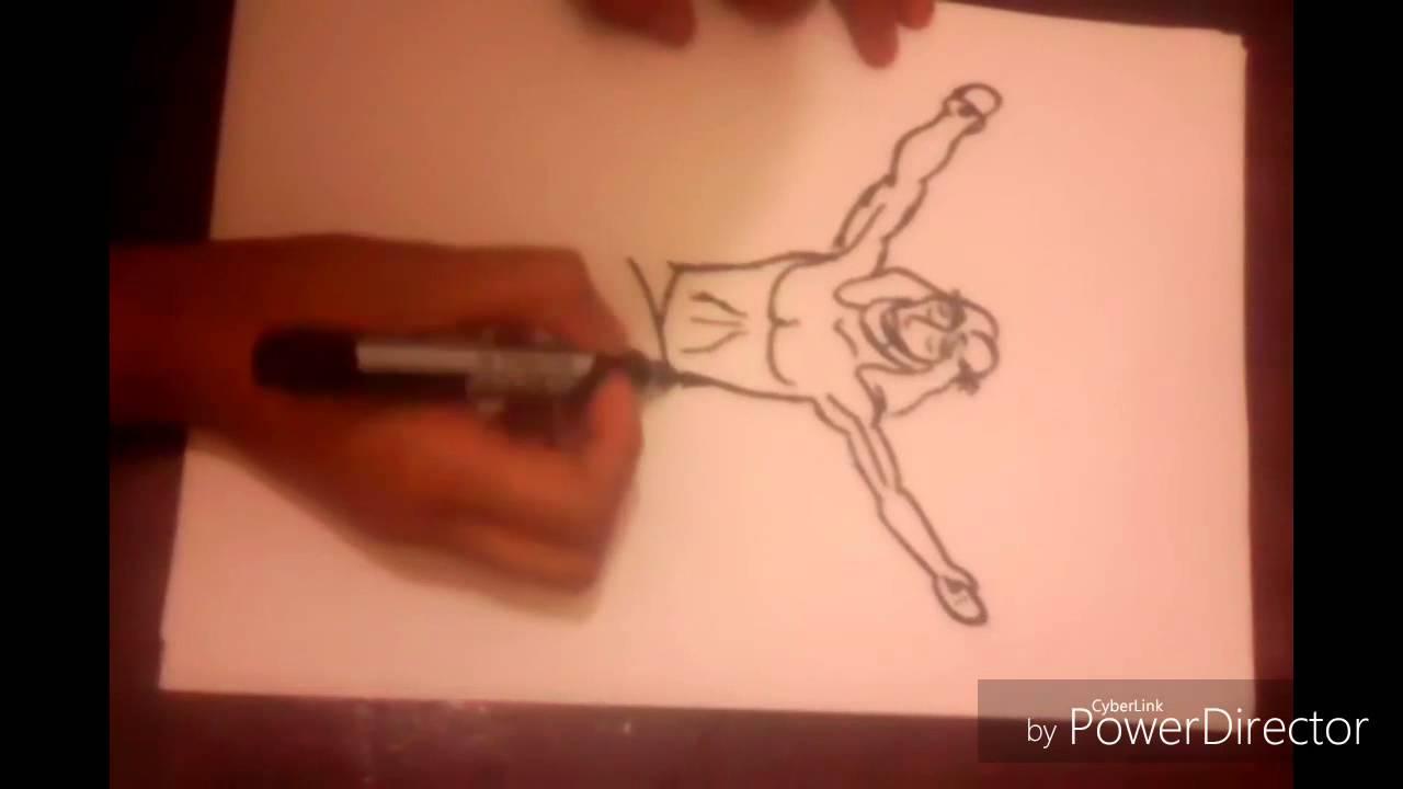 Como dibujar a Jesús Crucificado - YouTube
