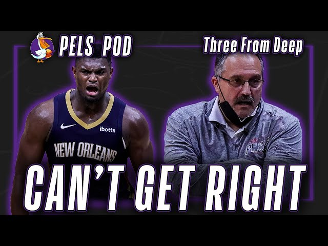 Why doesn't Zion Williamson get calls? | Pels Pod