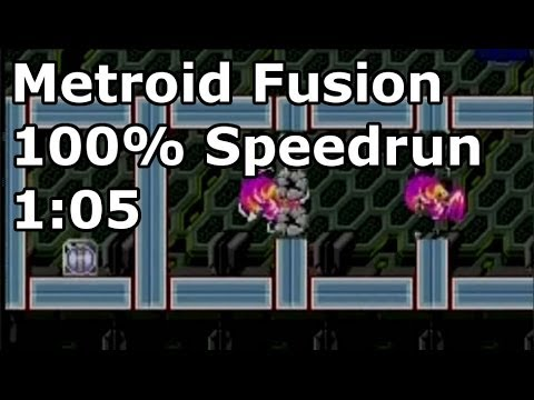 Metroid Fusion - 100% Speedrun in 1:05