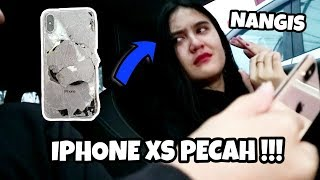 PRANK PACAR !! BARU 2 HARI BELI IPHONE XS LANGSUNG AKU JATUHIN SAMPE NANGIS - Prank