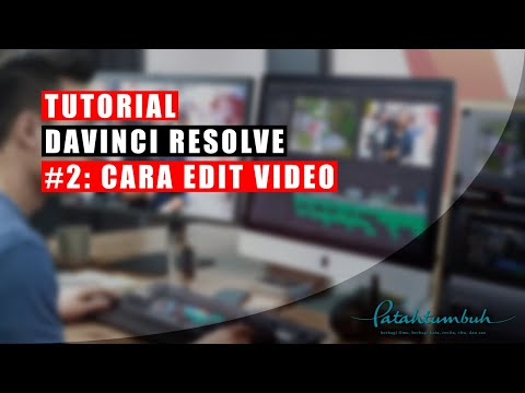 Davinci Resolve Tutorial: Cara Edit Video, Save Project, dan Export
