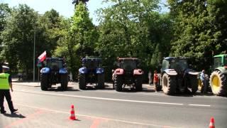 Urząd Wojewódzki Białystok. Protest rolników w sprawie dzików