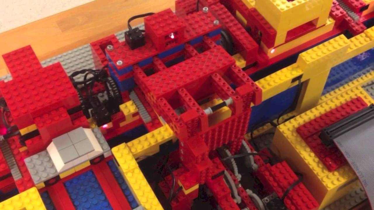 Factory Production Process Simulation - HELPS! - LEGO