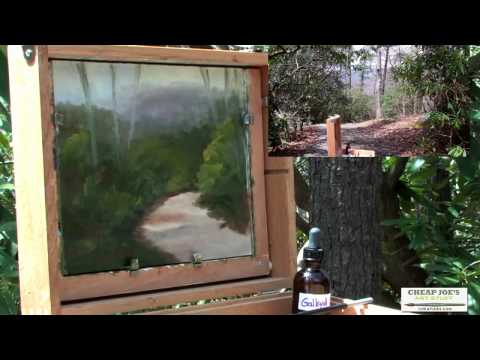 Plein Air Oil Painting with Kim Abernethy - The Final Touches (Part5)