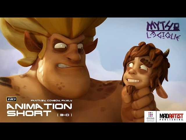 MYTHO LOGIQUE | 3D CGI Animation - Liars deal with Olympian Gods, centaurs, nymphs by ESMA