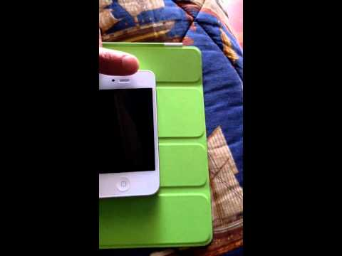 iPhone 4 White - New Proximity Sensor TEST | iSpazio.net