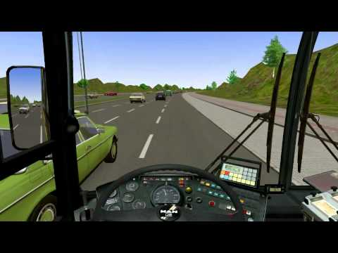 Let's Play OMSI-Bussimulator #010 Mit 70 Sachen über den Highway in Connecticut (USA) [Deutsch]