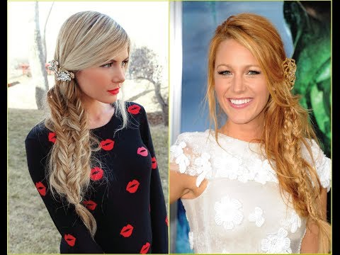Tutorial Hair Tutorial Blake Lively Inspired Vintage Waves
