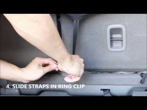 Universal Auto Bench Seat Cover Installation