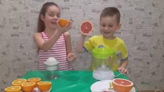 ФРЕШ КОНКУРС!!! Кто кого? Саша против Арсения или апельсины против грейпфрута.