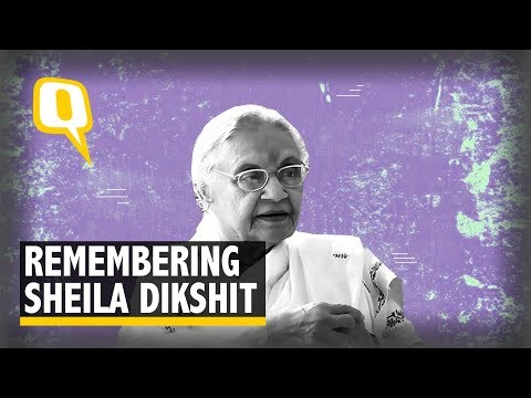 RIP Sheila Dikshit |Tracing the Political Journey of the Congress Stalwart | The Quint