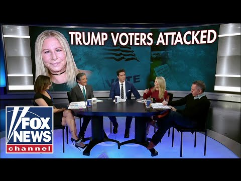 The Five reacts to Streisand's attack on female Trump voters