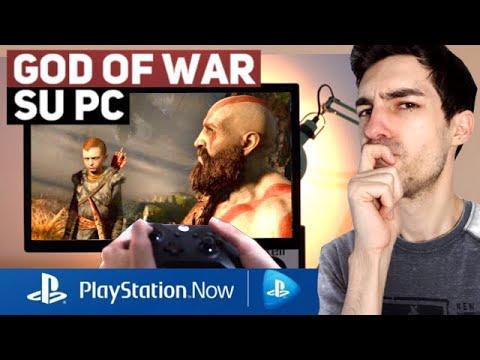 Come gira GOD OF WAR su PC con PS NOW? Proviamolo!