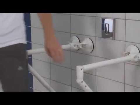 Badkamer beugels zonder boren van topmerk Mobeli - YouTube