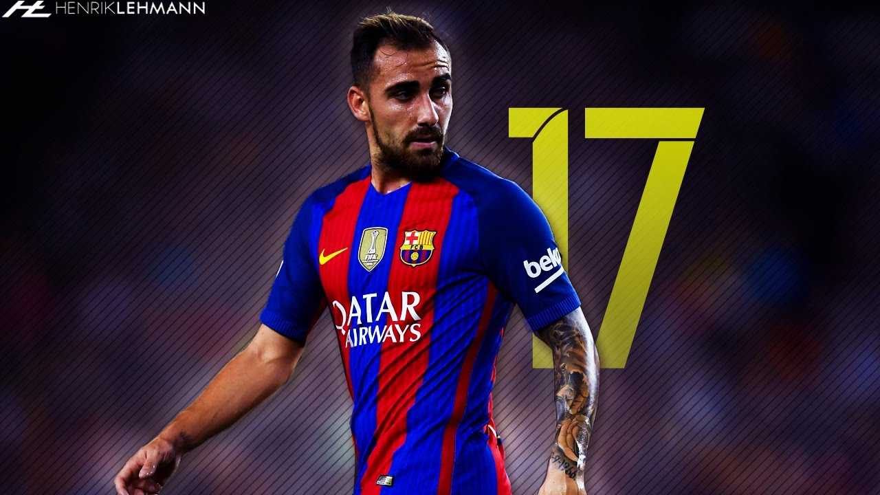 Paco Alcácer Goals & Assists 2017 HD - YouTube