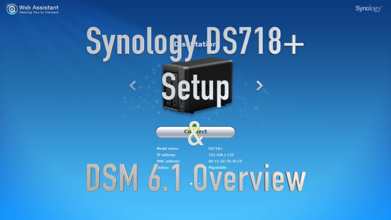 Synology DS718+ And DSM 6 1 Overview & Multimedia Performance