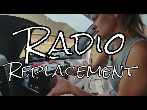 Replacing the Stock Radio in a 2007 Sprinter