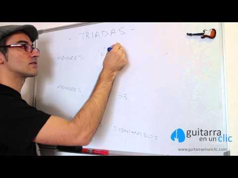 Construcción de Acordes mayores y menores para Guitarra. P2C19