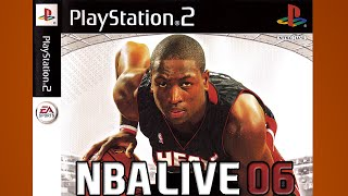 NBA Live 06 Gameplay Lakers Heat {1080p 60fps}