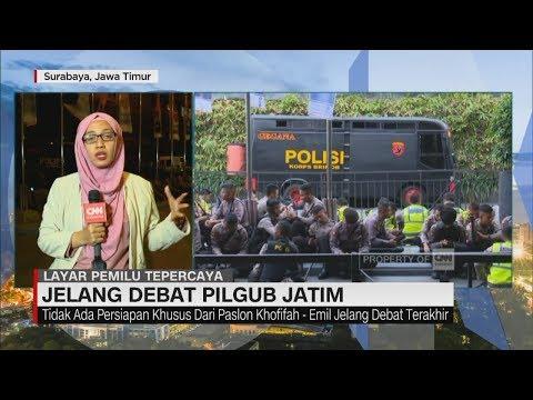 Jelang Debat Pilgub Jatim