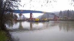 Mainbrücke Gemünden Abbruch und Neubau