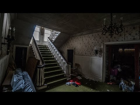 ABANDONED GOVERNOR'S MANSION & FUNERAL HOME