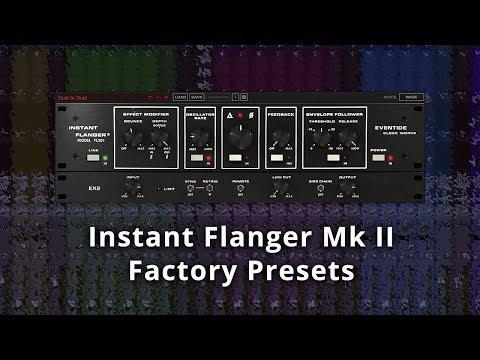 Eventide Instant Flanger Mk II Presets Demo