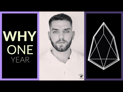Why Does EOS.IO (EOS) Have A Year Long Token Distribution?